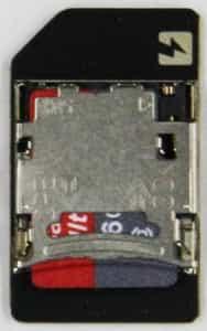 MicroSDソケット
